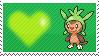 650 - Chespin by Marlenesstamps