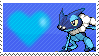 657 - Frogadier by Marlenesstamps