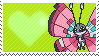 666 - Vivillon Meadow Patteren by Marlenesstamps