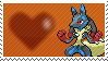 Mega Lucario by Marlenesstamps