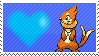 Trident The Buizel by Marlenesstamps
