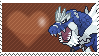 Shiny Tyrantrum by Marlenesstamps