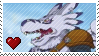Weregarurumon v.2 by Marlenesstamps