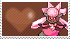 Shiny Diancie by Marlenesstamps