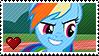 Rainbow Dash by Marlenesstamps
