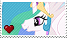 Princess Celestia by Marlenesstamps