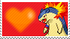 Edward The Typhlosion by Marlenesstamps