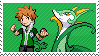Justin and Serperior by Marlenesstamps