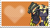Shiny Primal Groudon by Marlenesstamps