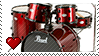 Drums by Marlenesstamps