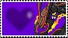 Shiny Mega Rayquaza by Marlenesstamps