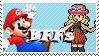 Mario and Serena by Marlenesstamps