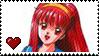 Shiori Fujisaki by Marlenesstamps
