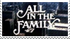 All in the Family Logo by Marlenesstamps
