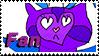 Mewyan Fan by Marlenesstamps