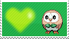 722 - Rowlet by Marlenesstamps