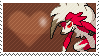 745 - Lycanroc Midnight by Marlenesstamps