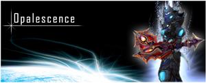Opalescence signature 1