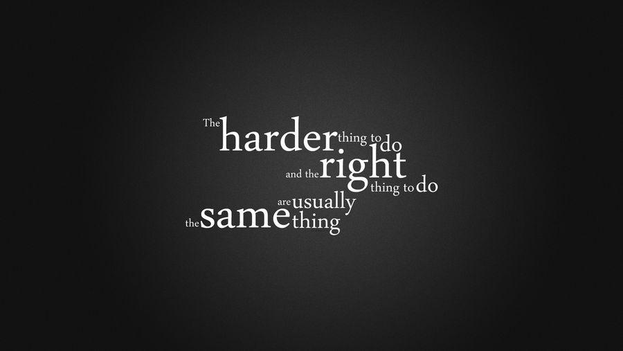 Motivational Quote Wallpaper by WebGremlin