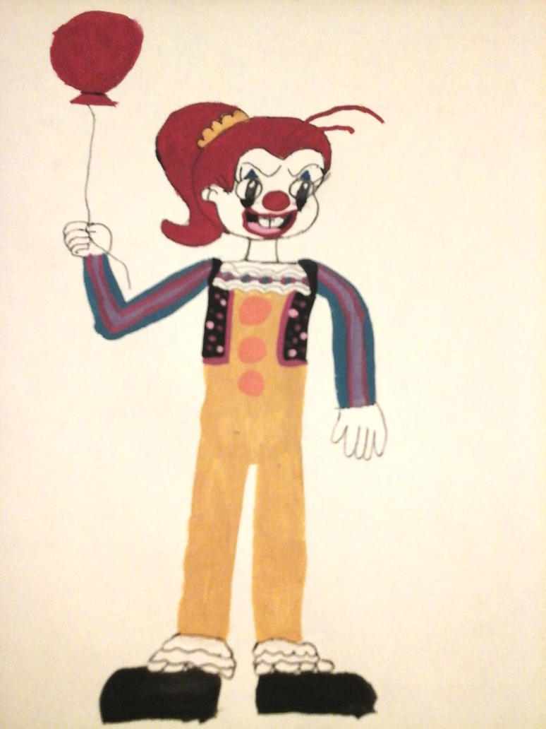 Luan Loud (Pennywise 1900) by Taureansmithpartee