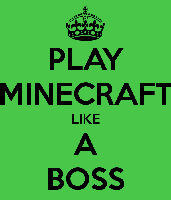 Play Minecraft Like A Boss By Jaws100