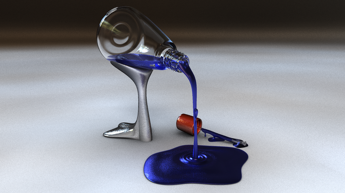 Nail Enamel Bottle by clockmaster77