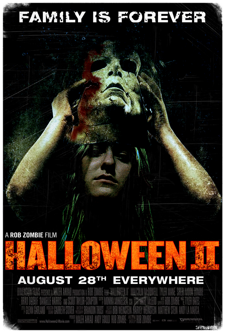 Halloween Movie Poster Halloween ii Extra Large Movie