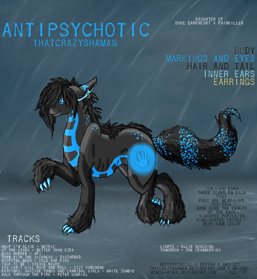 Antipsychotic Album Cover by ThatCrazyShaman