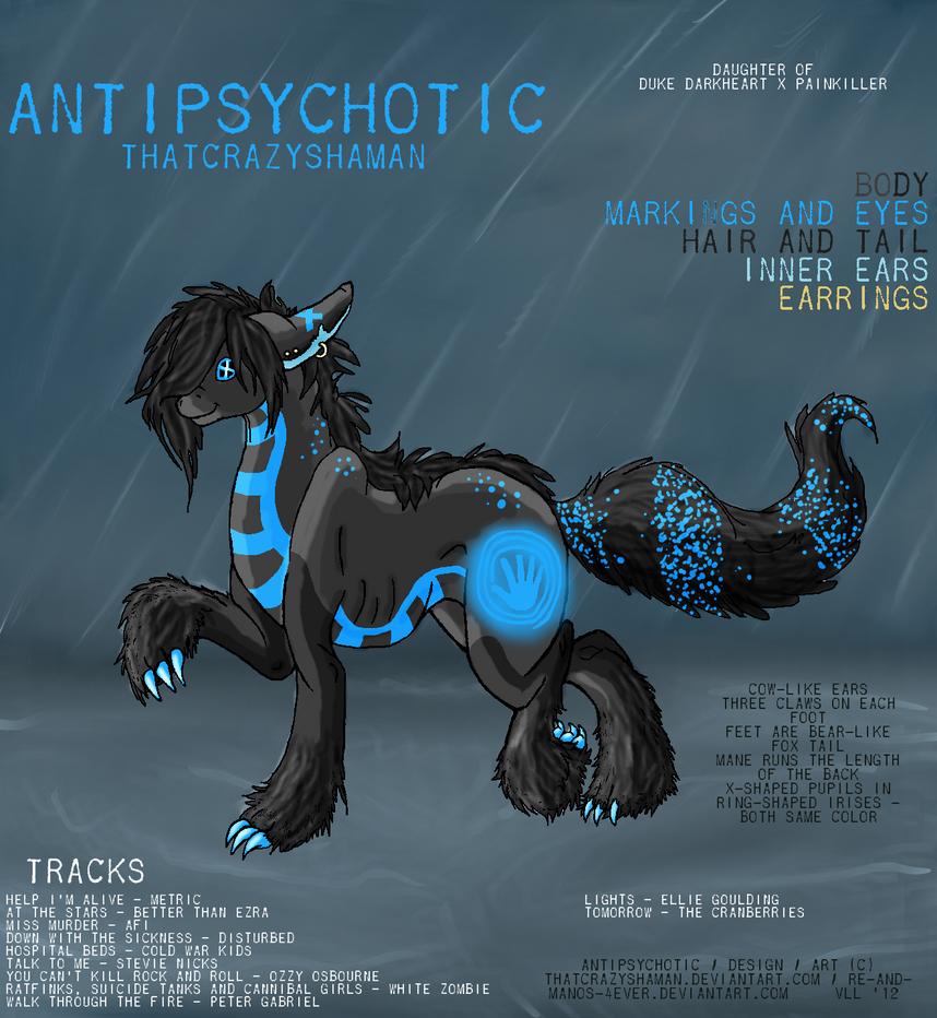 Antipsychotic Album Cover by ThatCrazyShaman