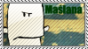 Maslana stamp by BoggyTheWorm