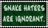 I HAET SNEKZ!1! DEIR ZUTCH EVUL MONSTURRZ!!11!! by BoggyTheWorm
