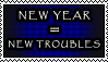 My usual motto for every New Year by BoggyTheWorm