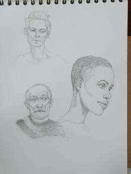 Head Drawings 160601