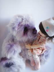 Purple cuddle by otepoti