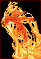 Human Torch by Nichollica