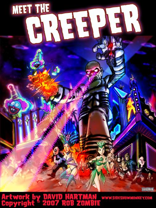 MEET THE CREEPER by Hartman by sideshowmonkey