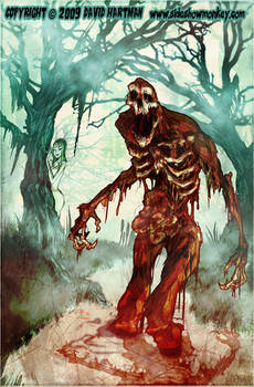 SWAMP BLOOD TERROR BY Hartman