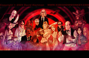 FILMS OF COSCARELLI by Hartman by sideshowmonkey