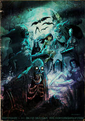 CEMETERY CREEPSHOW by Hartman by sideshowmonkey