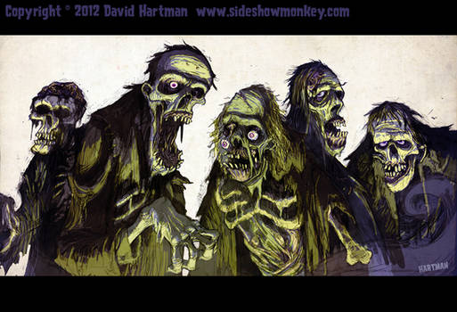 ZOMBIES! by Hartman
