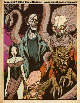 MONSTER PAGE by Hartman