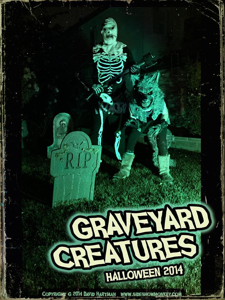 GRAVEYARD CREATURES 1 by Hartman by sideshowmonkey