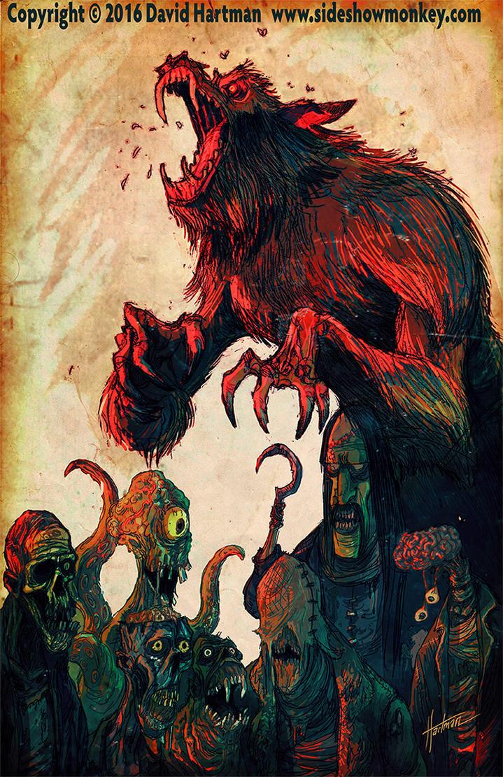 THE GANG by Hartman by sideshowmonkey