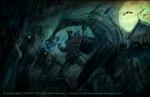 THE GRAVEYARD BAT by Hartman