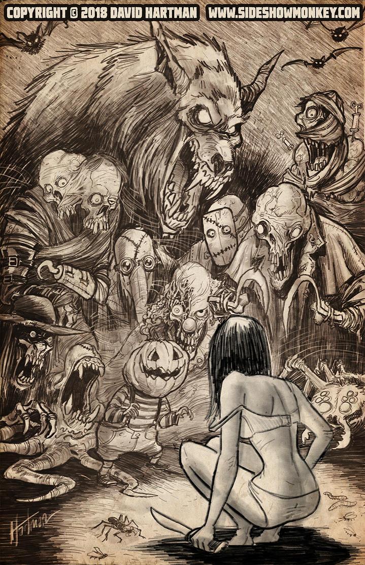 NIGHTMARES by Hartman by sideshowmonkey