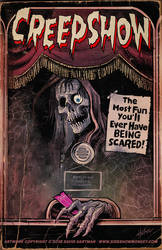CREEPSHOW POSTER by Hartman by sideshowmonkey