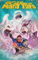 ESCAPE FROM THE ISLAND OF MISFIT TOYS by Hartman by sideshowmonkey