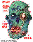MASK OF THE DEAD by Hartman