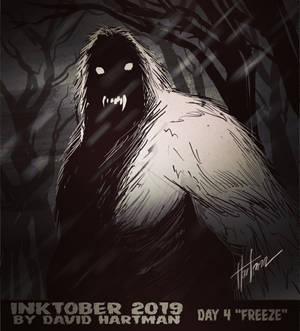 INKTOBER 2019: DAY 4