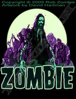 ZOMBIE SHIRT by Hartman by sideshowmonkey